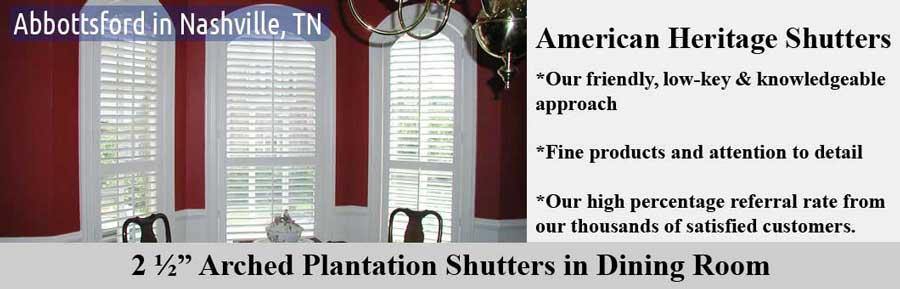 American Heritage Shutters Inc